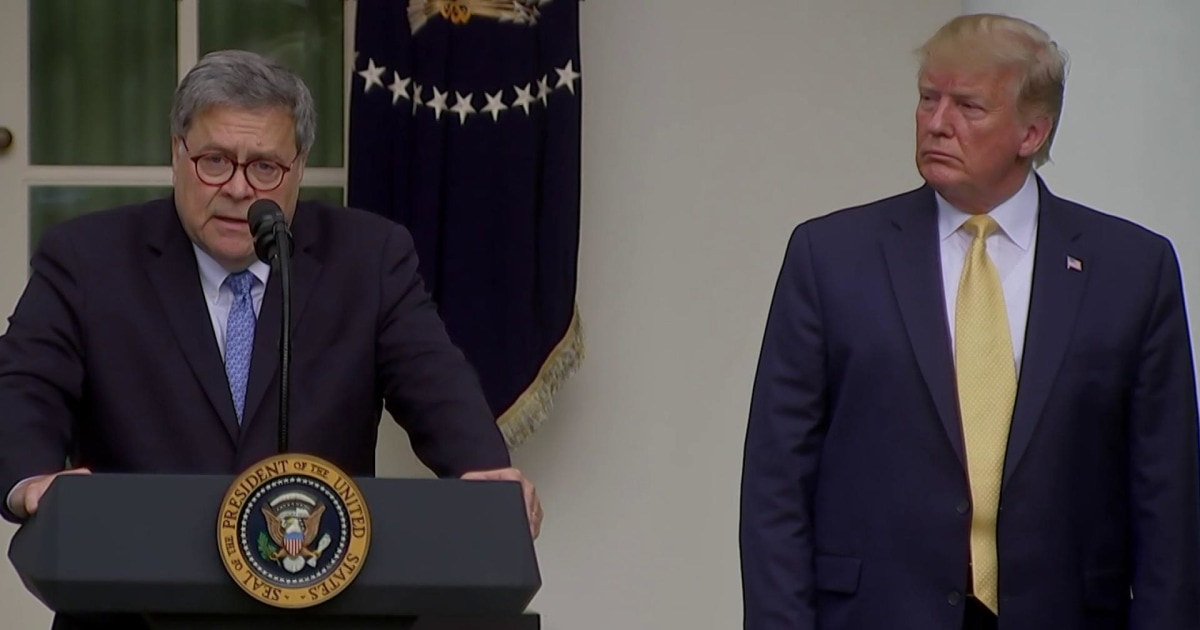 Freed by Senate GOP, Trump appears to formalize Ukraine scheme through Barr