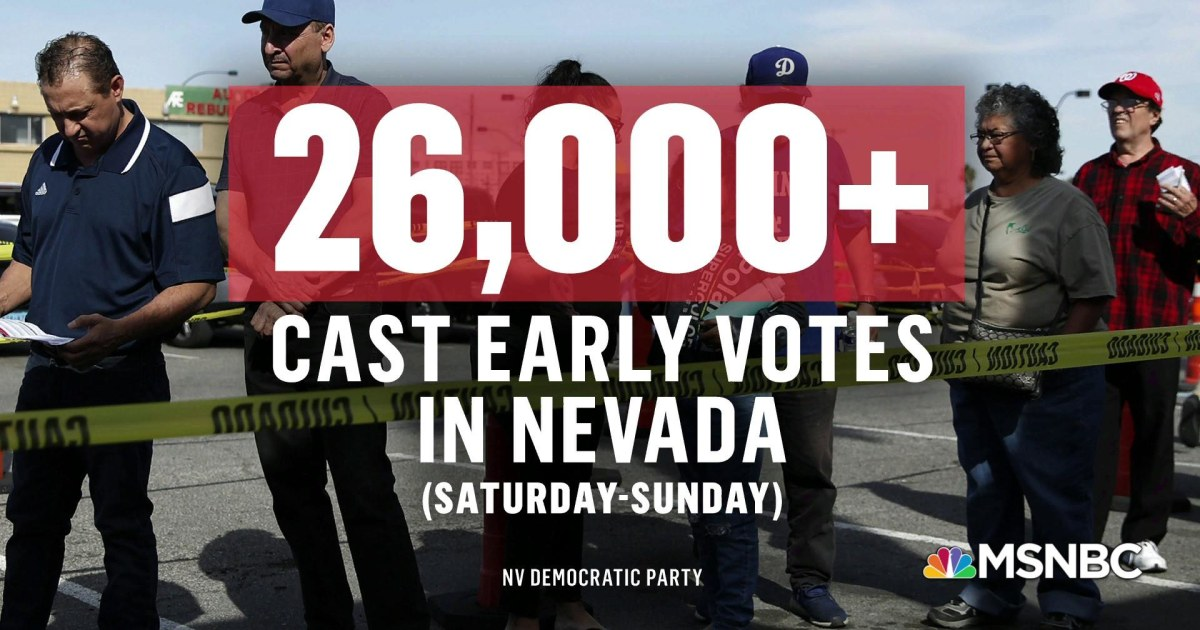 Nevada democrats weigh in on caucus early voting...