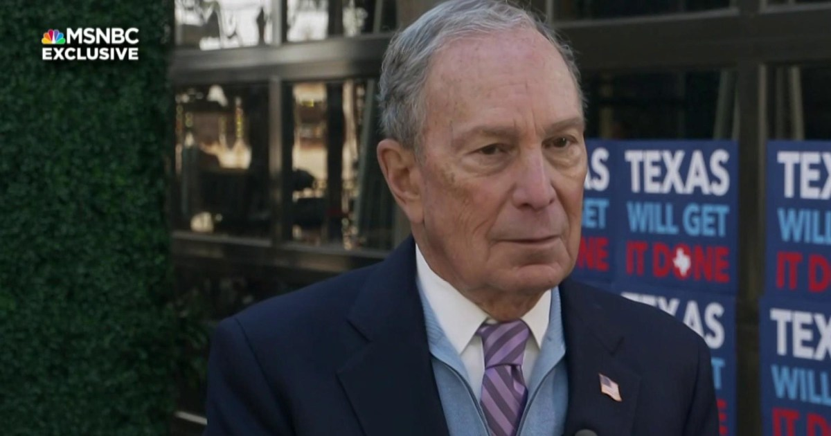 Bloomberg: I know how to go head-to-head with Trump