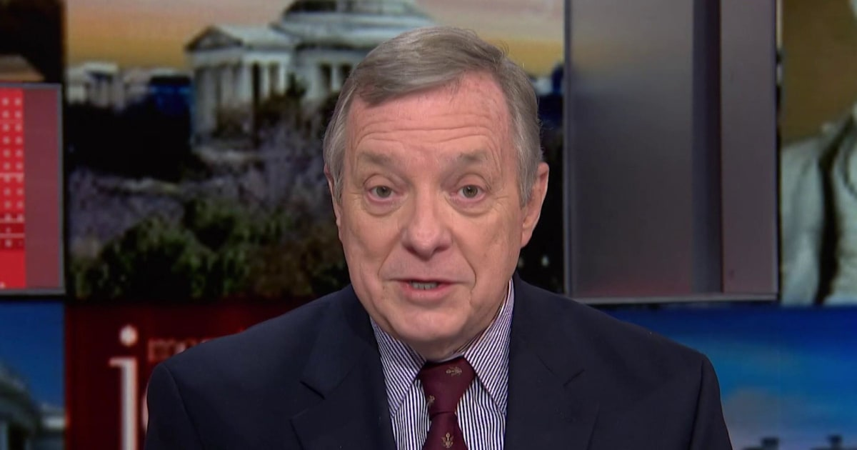 Sen. Durbin: Will Pence rely on science and not politics?
