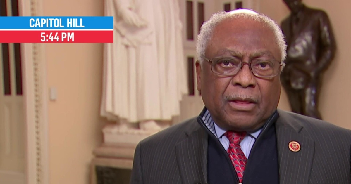 Clyburn: 'I know exactly who I would endorse, and I've known for some time now'