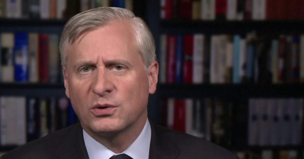 Jon Meacham: The president 'is functioning as a monarch'