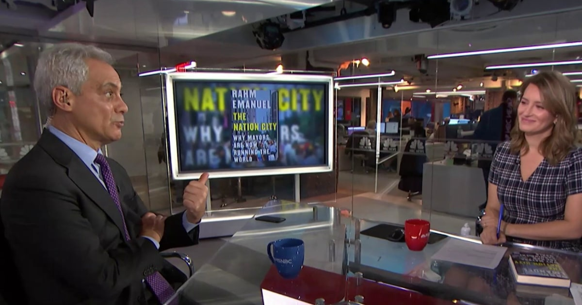Rahm Emanuel talks the mayoral impact of the 2020 race