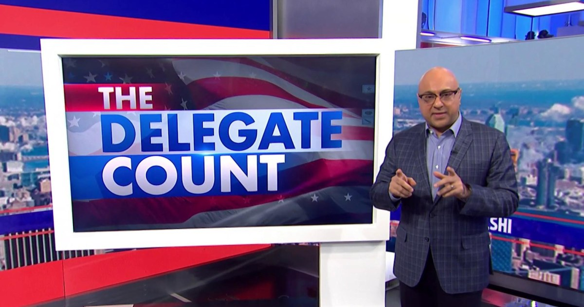 Keeping up with the delegates: Velshi on how the count will shape the 2020 election