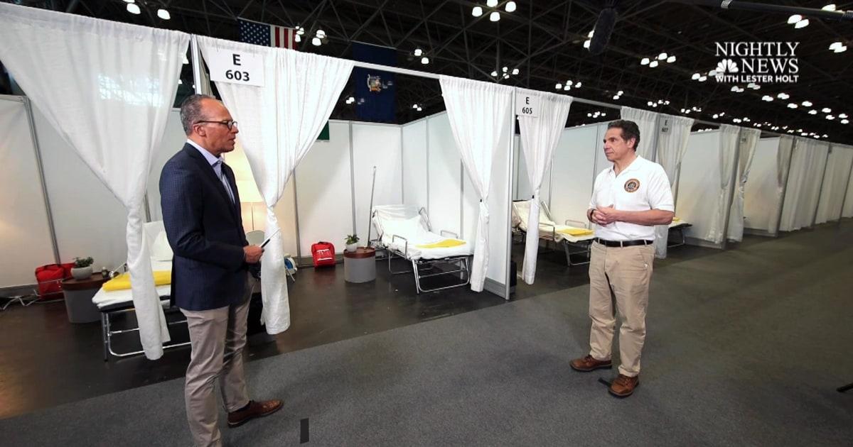 Cuomo reagiert auf Trump sagte NY braucht nicht zu 30.000 Ventilatoren