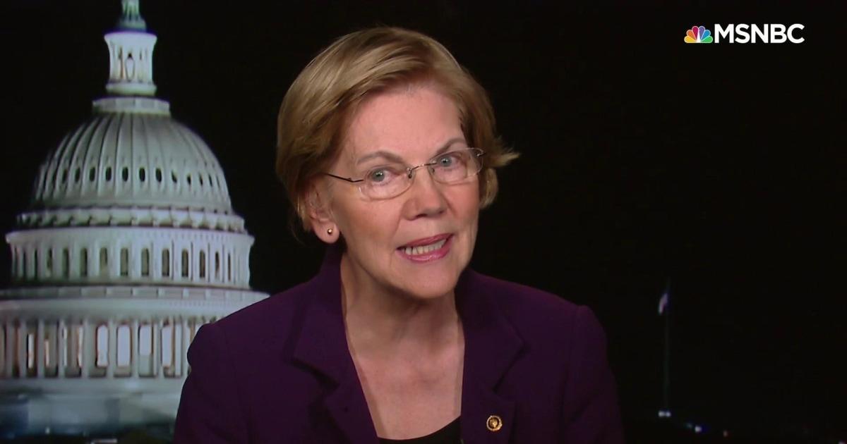 Elizabeth Warren explains economic stimulus coronavirus package