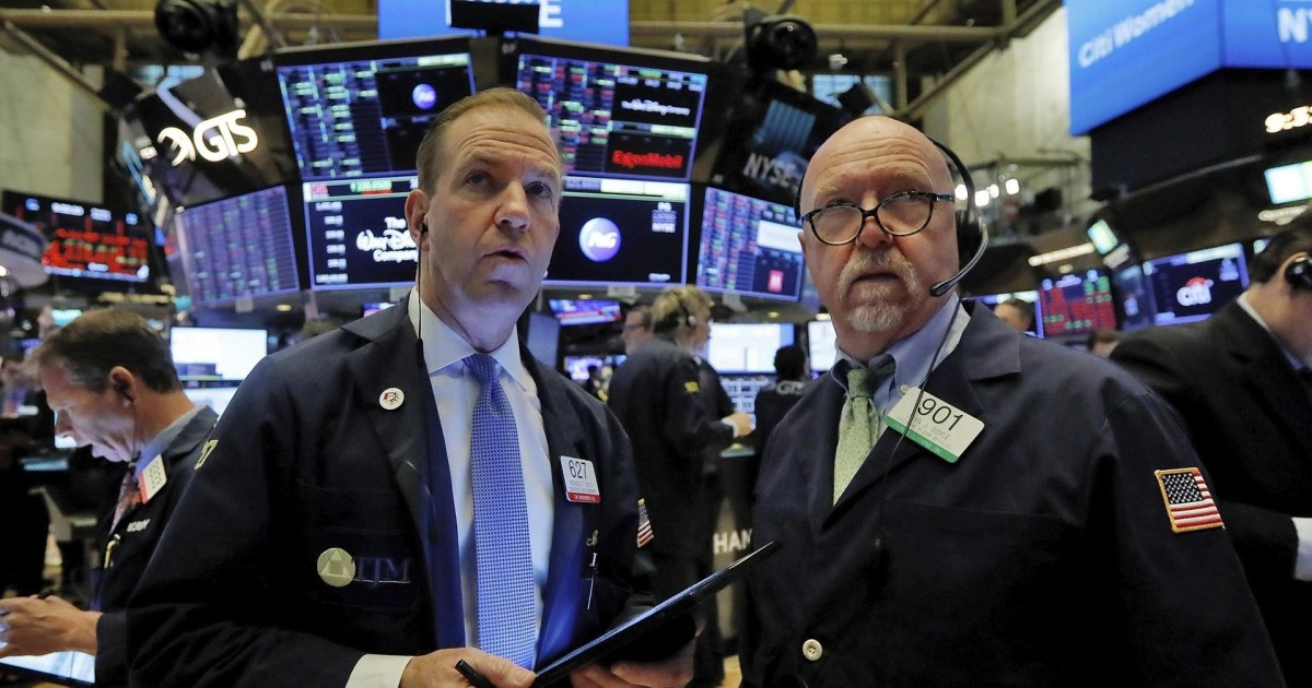Dow falls 10 percent in brutal day for markets