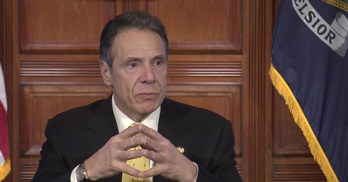 Cuomo signing executive order to take and redeploy ventilators in New York
