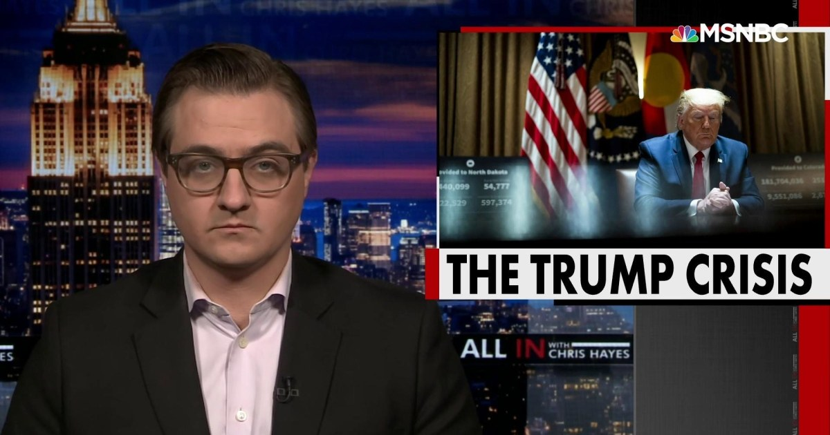 Chris Hayes: Trump continues abusing power to punish 'enemies' and reward associates