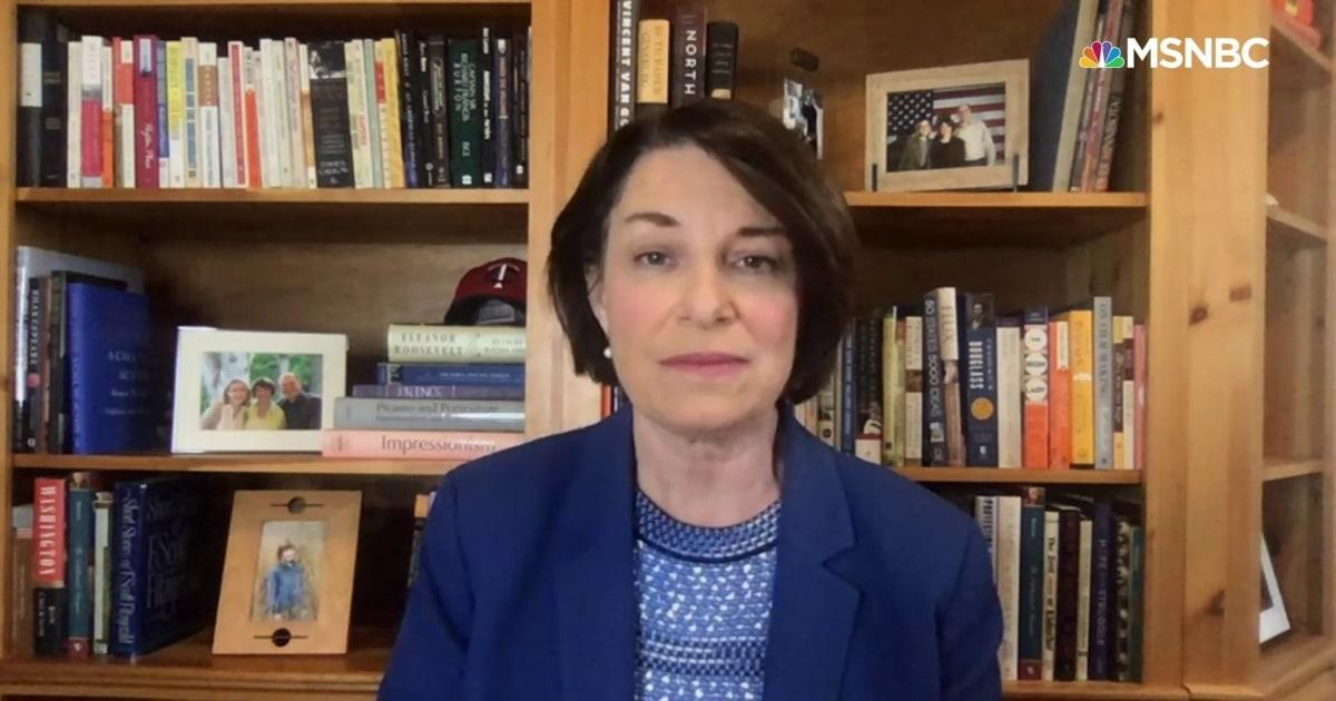 'Absolutely false': Sen. Klobuchar responds to claims she didn't prosecute officer in George Floyd's arrest