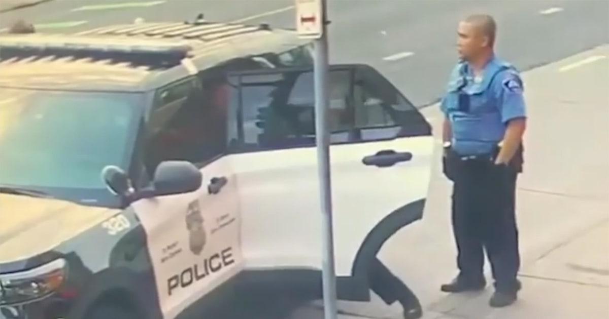 New video appears to show struggle between George Floyd and police officers inside vehicle