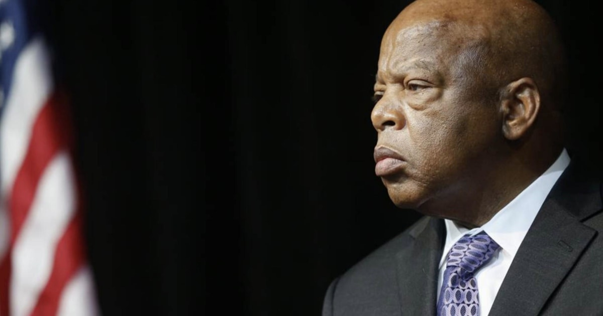 Rep. John Lewis: We cannot give up our fight for racial equality