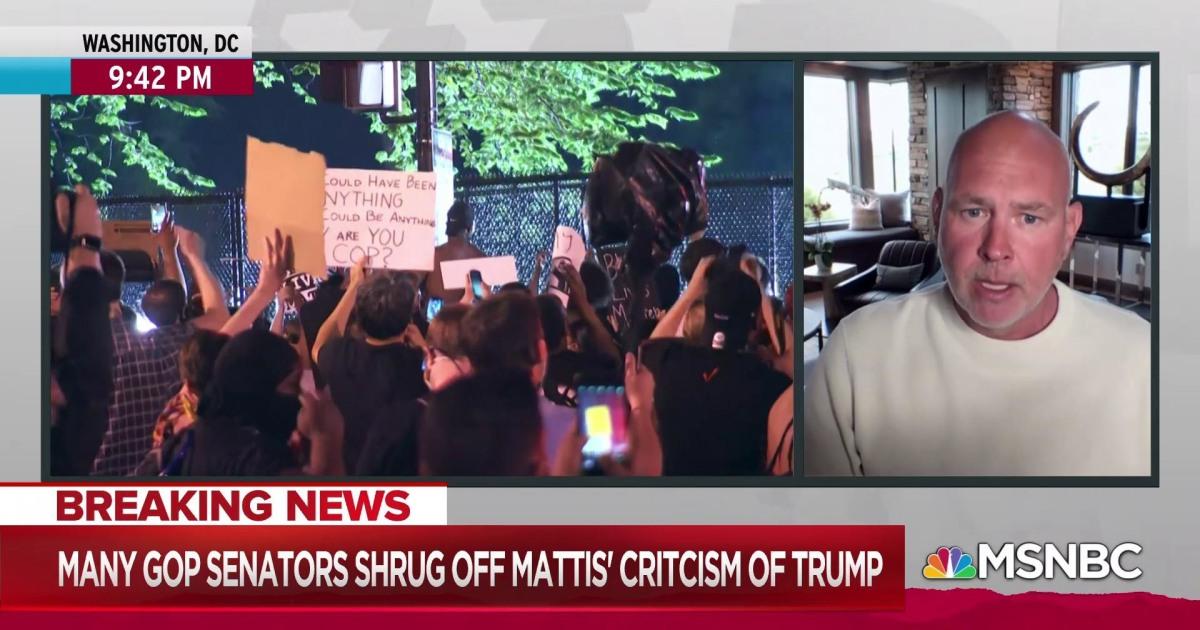Schmidt: Trump, Barr building 'thugocracy' with secret police