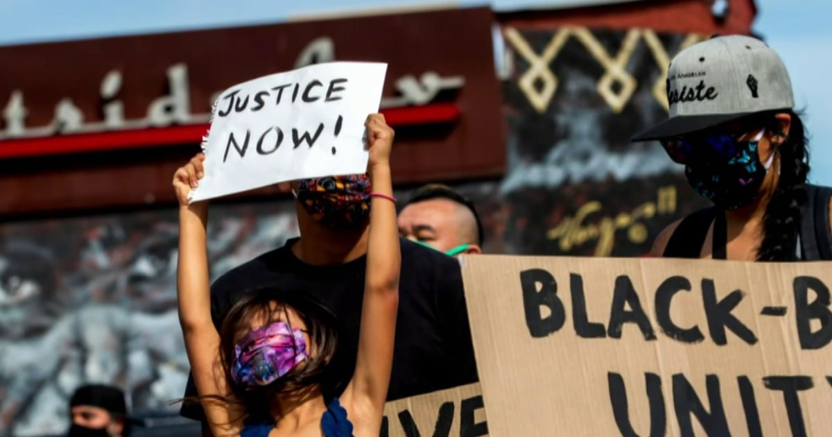 Black families have 'the talk' about police after George Floyd death