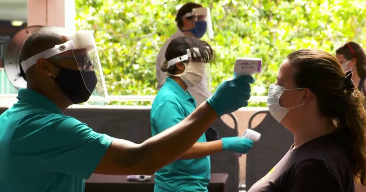 18 states report spike in coronavirus cases