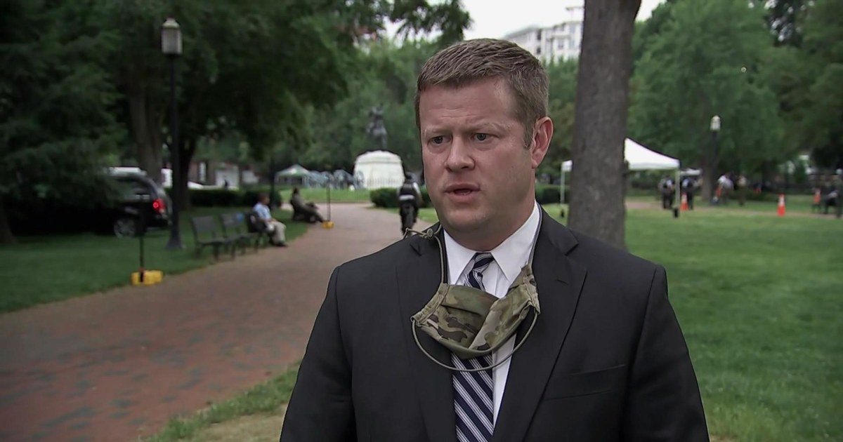 Army secretary on protest response: 'We don't police the American streets. We protect America'