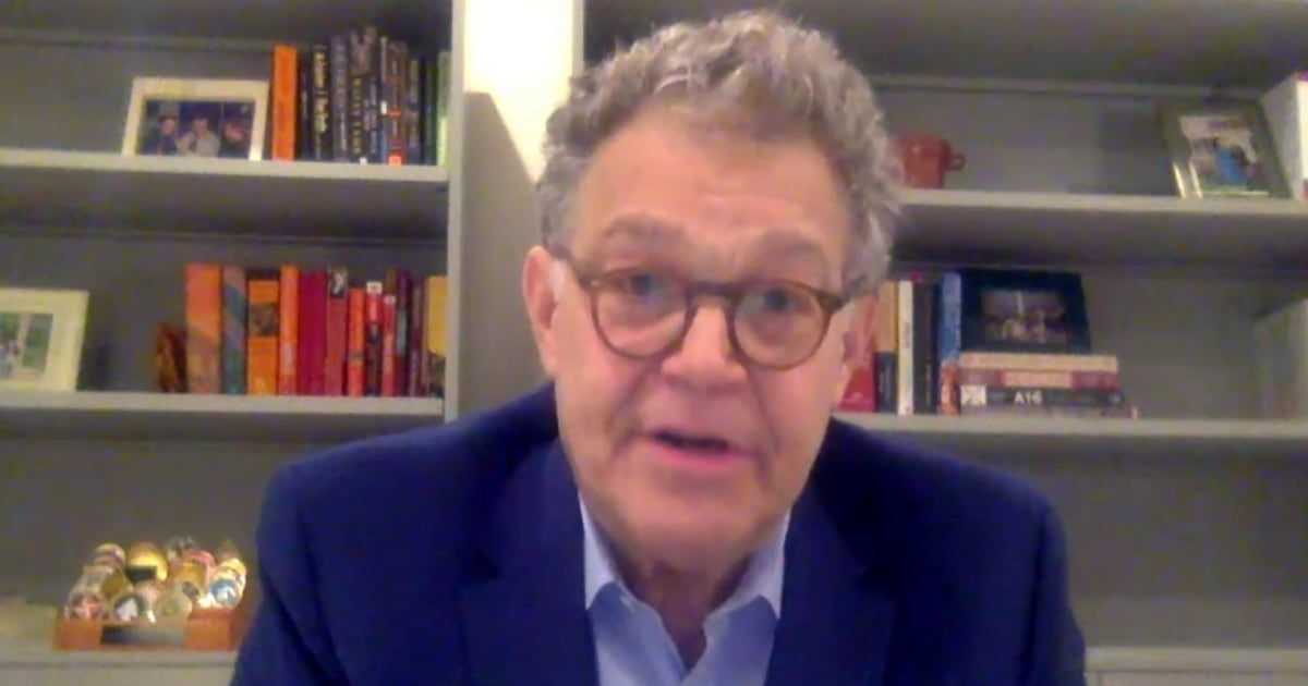Al Franken on voters in 2020: They want a govt run by professionals, 'not corrupt cronies'