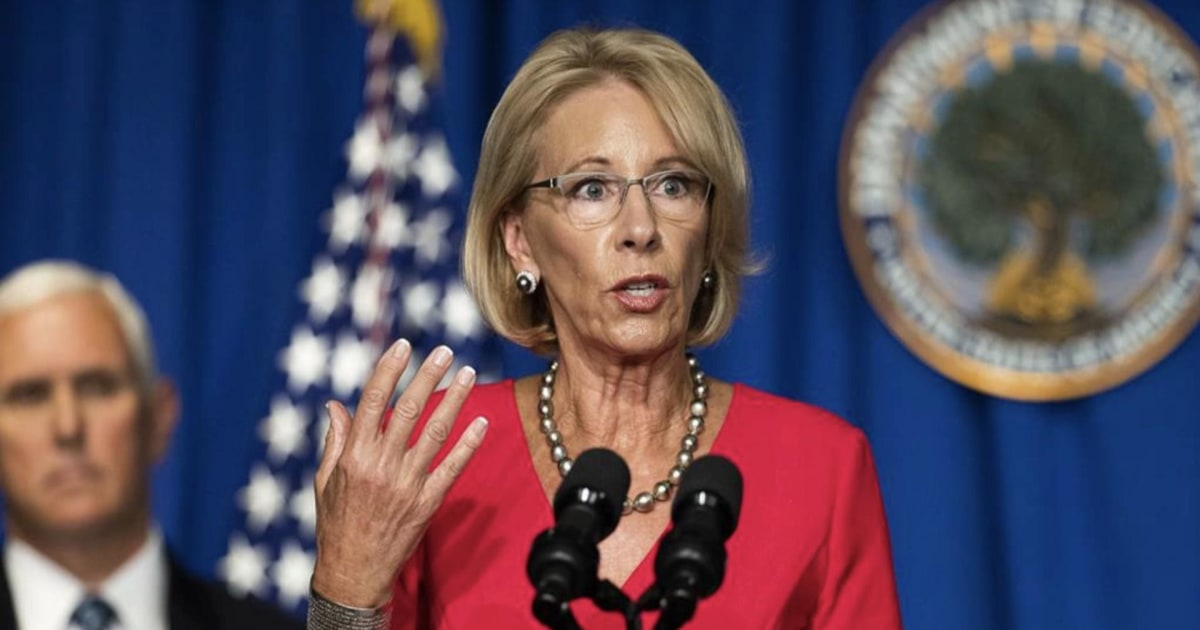 Local schools ignoring DeVos and Trump's push to reopen