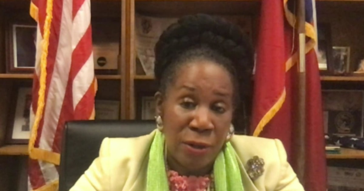 Congresswoman Sheila Jackson Lee calls for new stay-at-home order in Texas