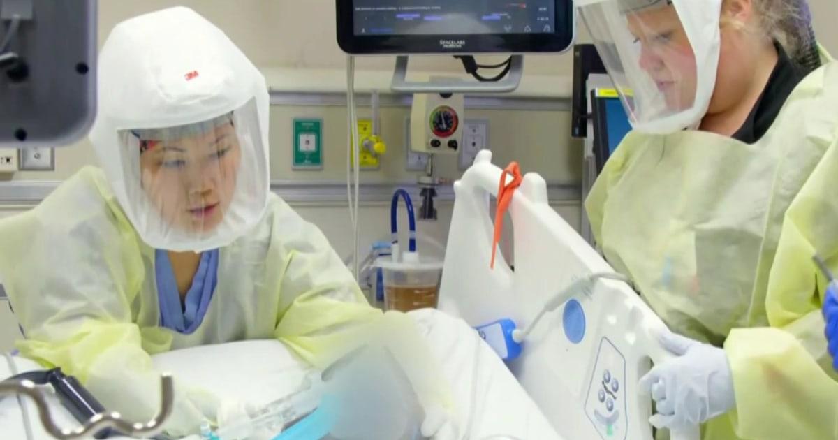 Inside a South Carolina hospital, coronavirus surge overwhelms staff