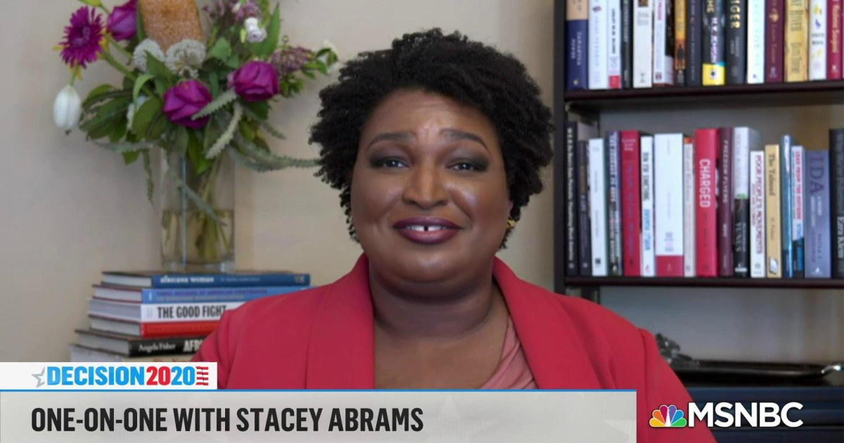 Stacey Abrams doesn't care if you think she's ambitious