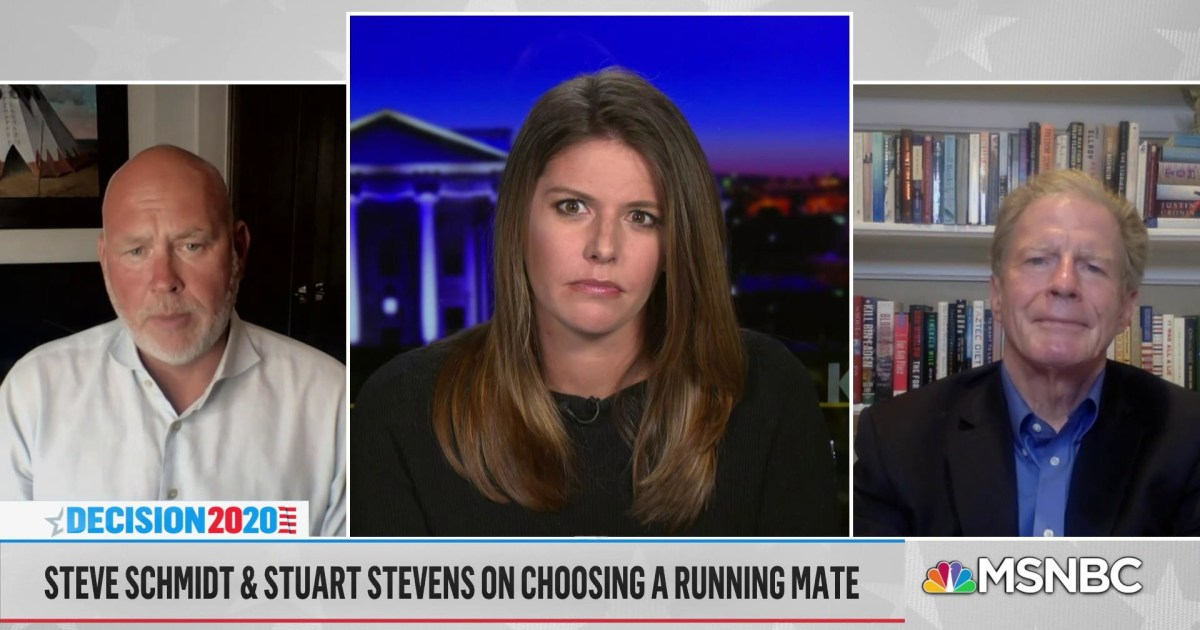 Stuart Stevens: 'I don't think there's a place for me in the Republican party as long as it's the Trump party'