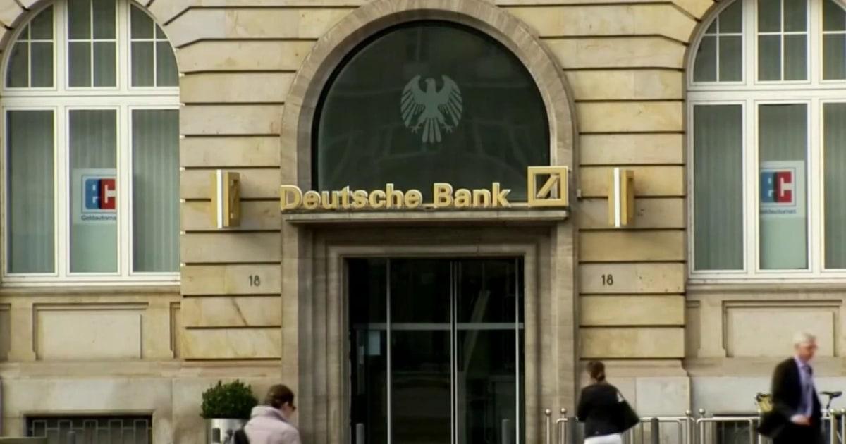 NYT: Deutsche Bank complies with subpoena for Trump's financial records