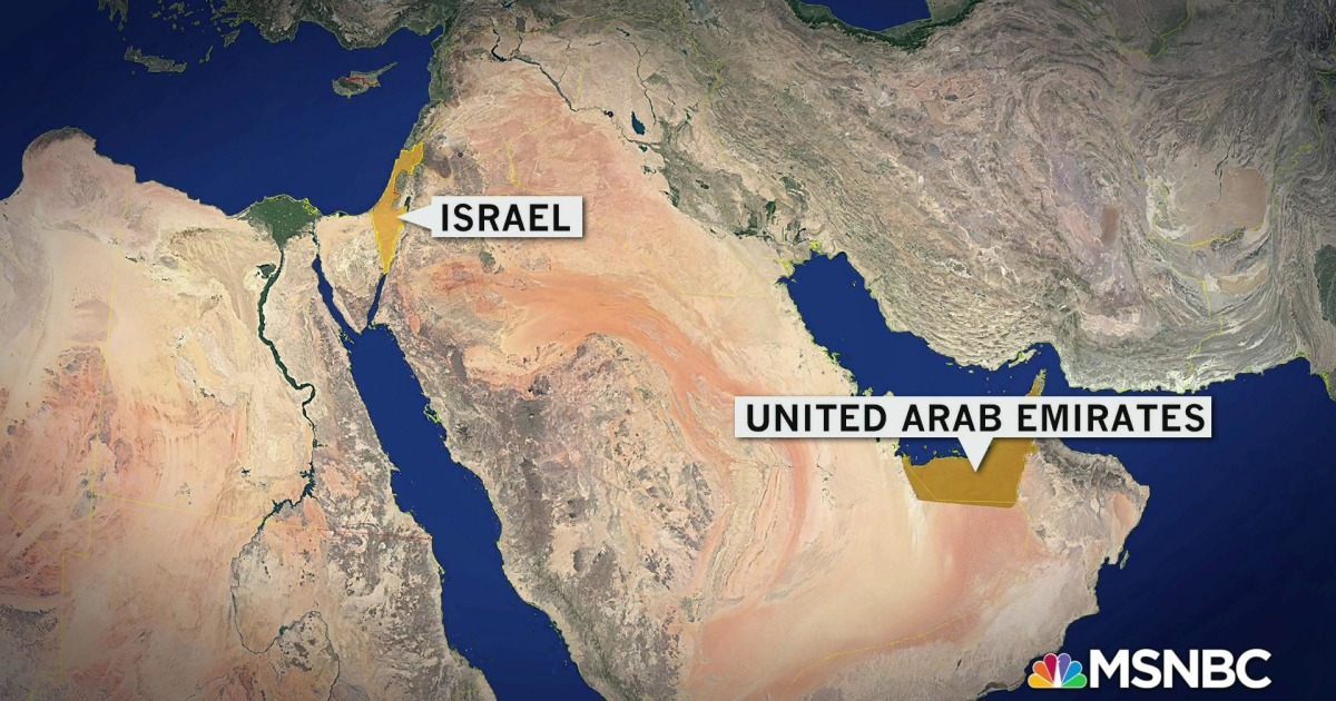 www.msnbc.com: Breaking down the Israel-UAE agreement, and why Iran may be the reason for diplomatic ties