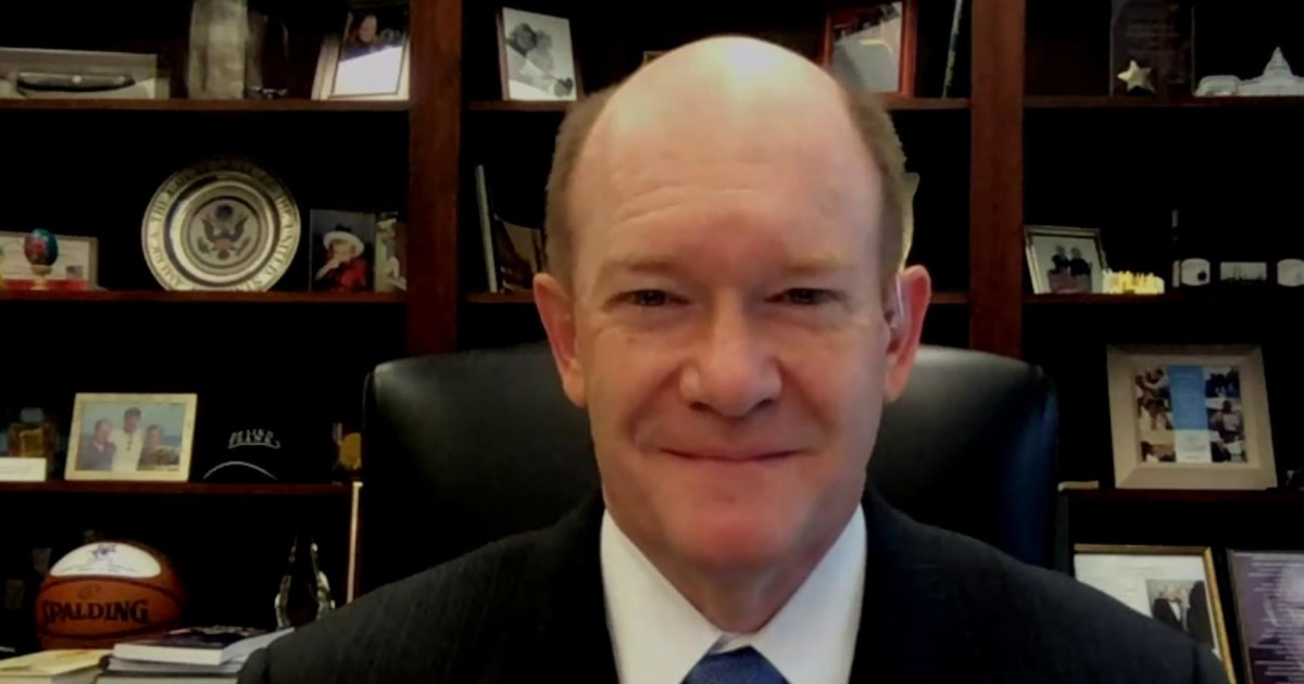 Sen. Coons: 'Kamala Harris is going to be a great vice president'