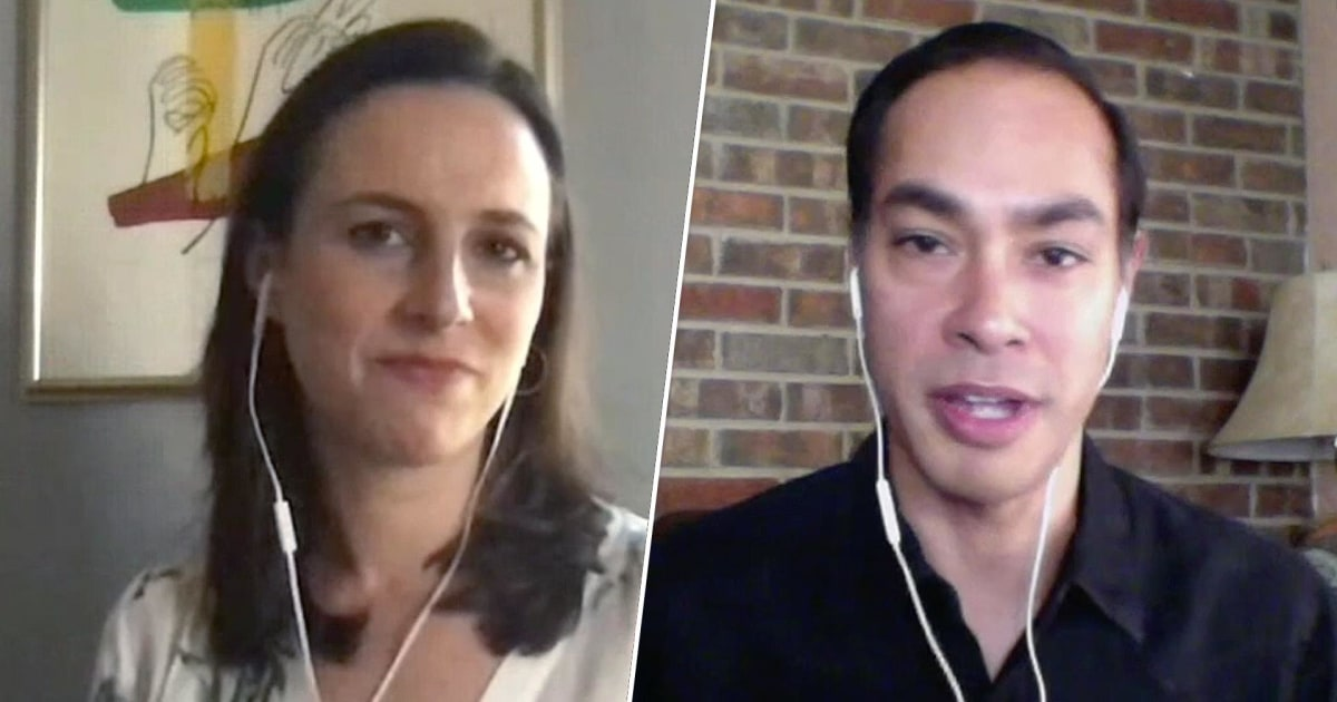 Watch: MSNBC's Alicia Menendez interviews Julián Castro for Texas Tribune Festival