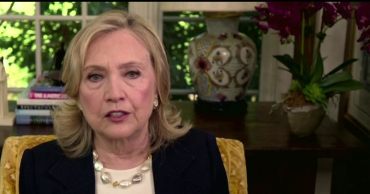 Hillary Clinton: Republicans doing an 'epic job trying to defend the indefensible' on Supreme Court fight