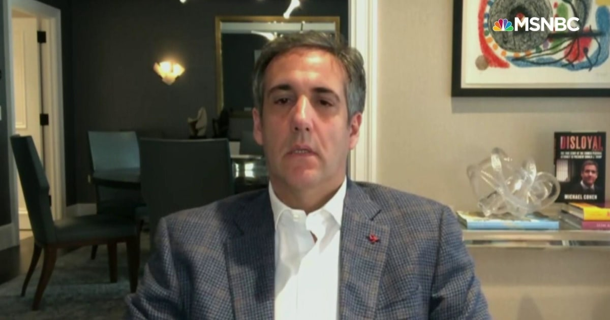 Michael Cohen: Trump believed Putin was behind his $50M profit in sale of mansion