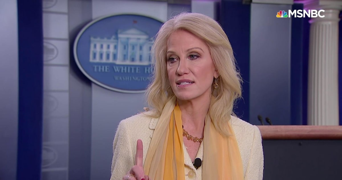 Chris Hayes recalls Kellyanne Conway insisting virus was 'contained' in March