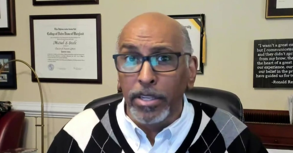 "Michael Steele on Trump coronavirus response: ""You're the reason why 200k people are dead"""