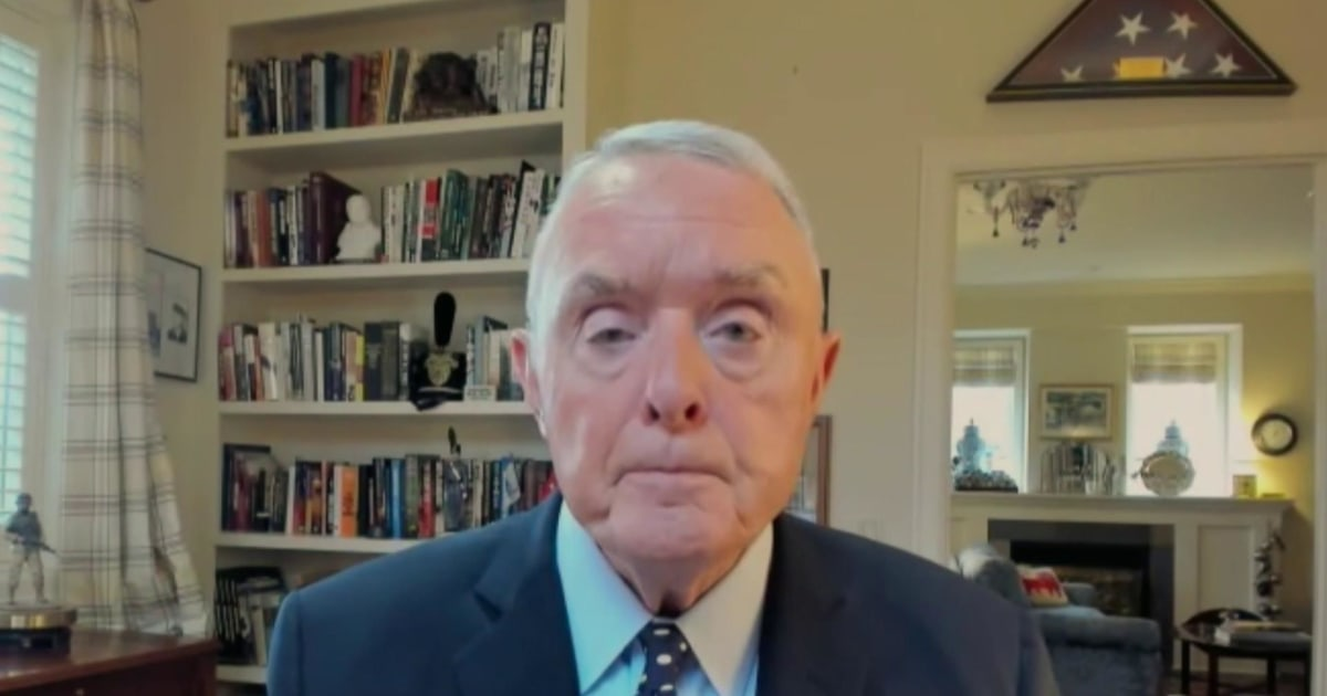 Gen. Barry McCaffrey: We haven't seen anything like this 'since the Civil War'