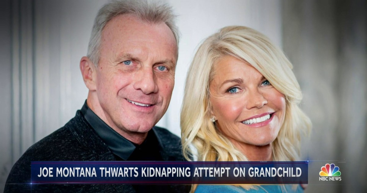 Football legend Joe Montana rescues grandchild from attempted kidnapping
