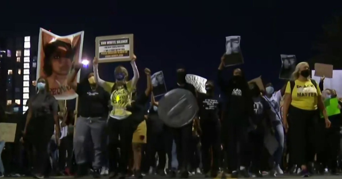 Protests across the U.S. after no officers charged with Breonna Taylor's death