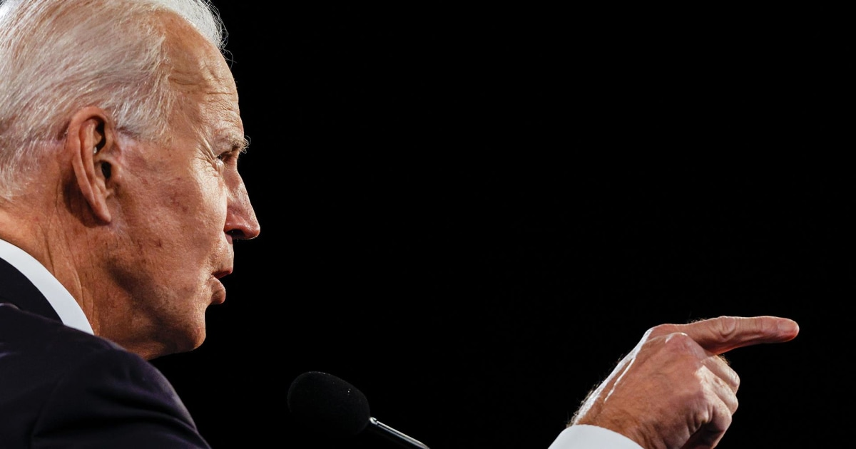 Biden attacks Trump for not releasing tax returns in final presidential debate