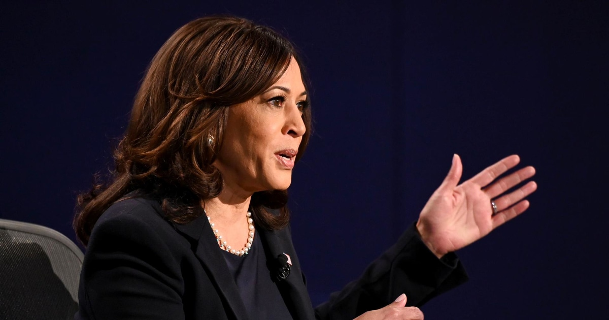 Harris calls Trump's Covid response 'greatest failure of any presidential administration'