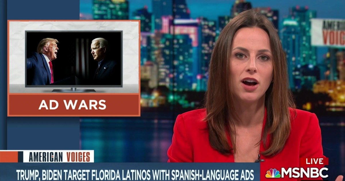 Trump & Biden target Florida Latinos with Spanish-language ads in final days of campaign