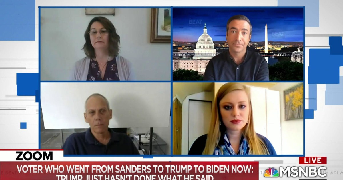 Breaking: Trump crashing as his 2016 voters switch to Biden