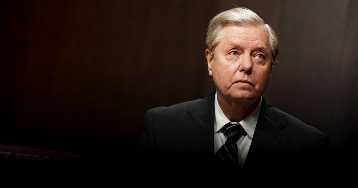 Trump sycophant Lou Dobbs attacks Lindsey Graham