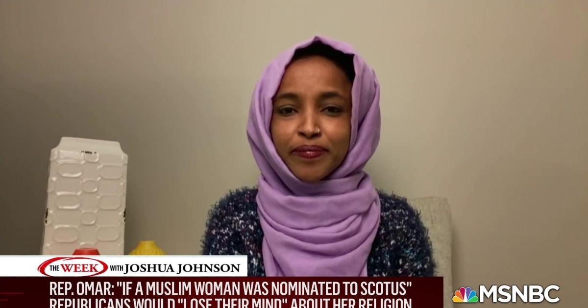 Minnesota Congresswoman Ilhan Omar responds to Trump attacks