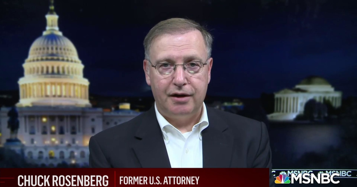 Former FBI Official Chuck Rosenberg on Iran, Russia and the presence of armed men at polling sites