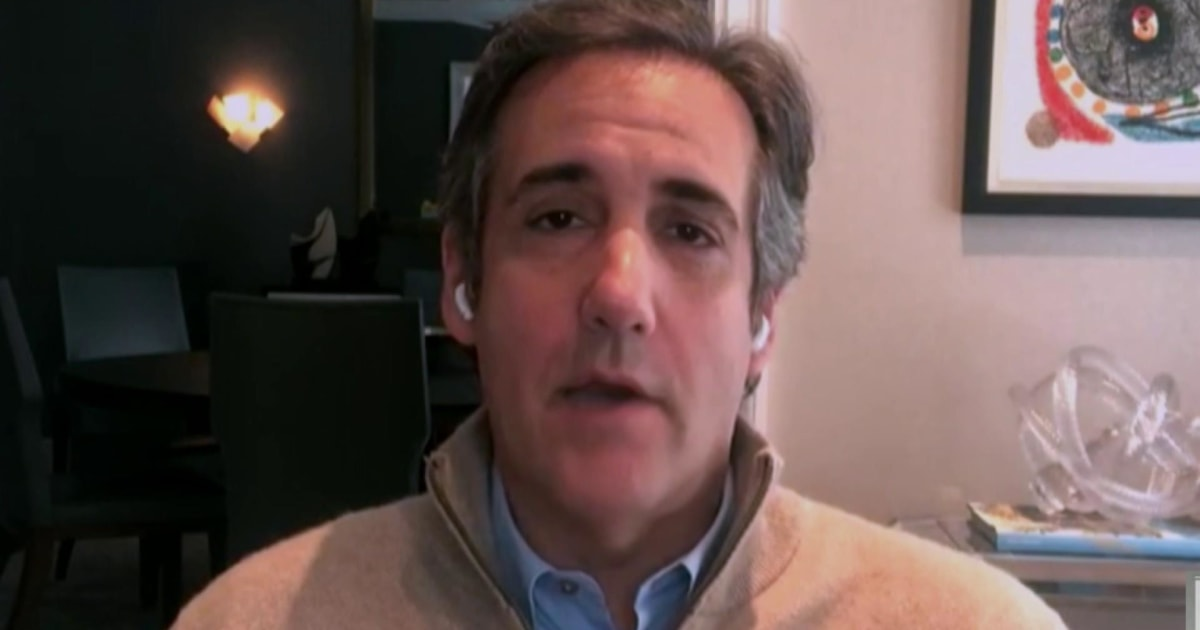 Cohen: 'There will never be a peaceful transition of power'