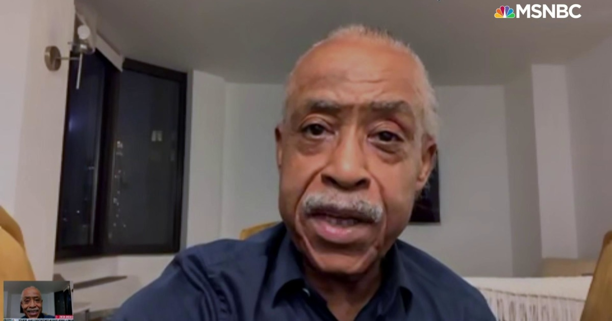 Sharpton explains the complicated history of the 1994 crime bill