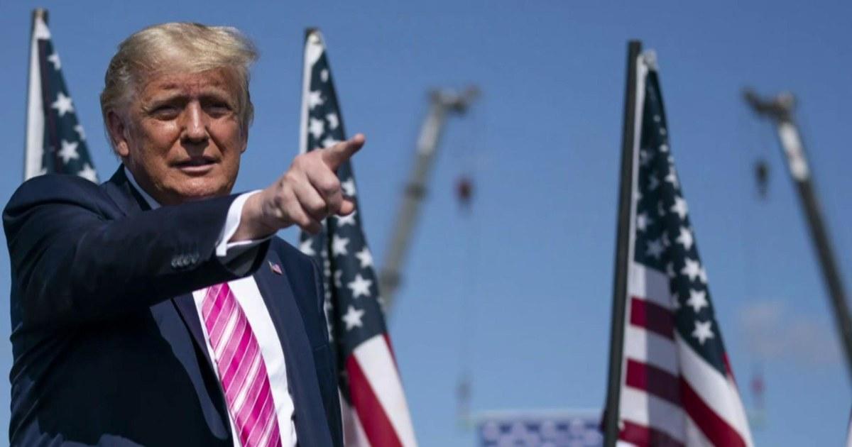 Trump campaigning across battleground Pennsylvania today