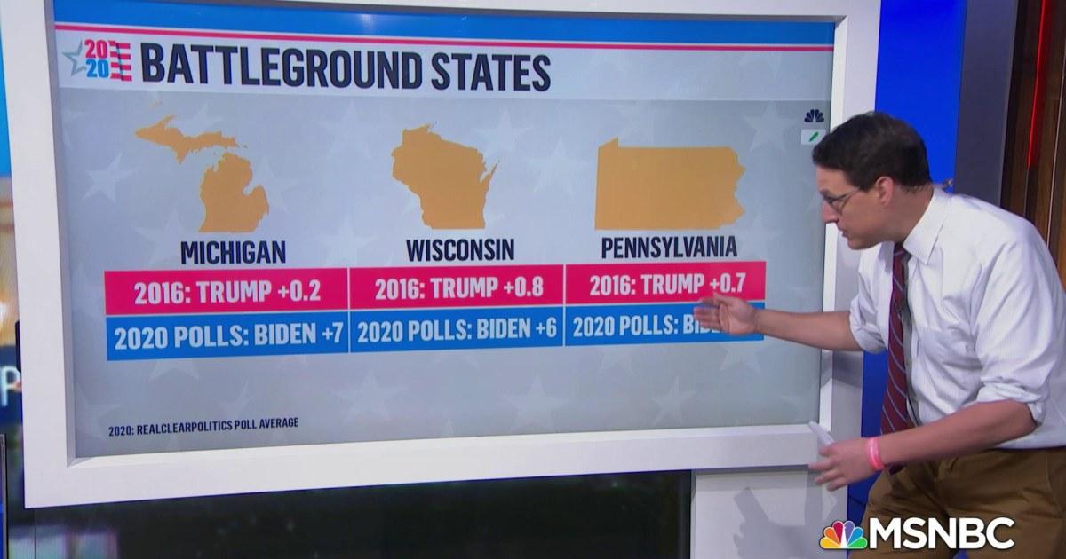 Biden leads Trump in most battleground polls 15 days before election