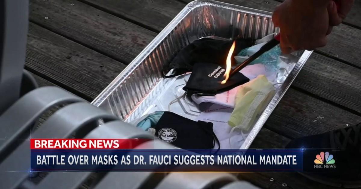 Mask debate in U.S. rages on