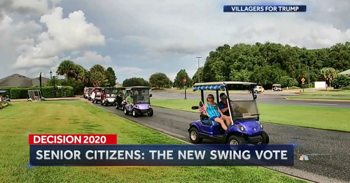 Senior citizens shifting their vote